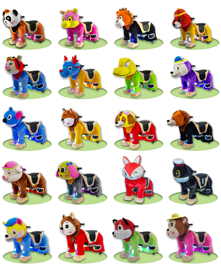 Amusement Park Equipment Walking Animal Ride From China Factory Suppliers