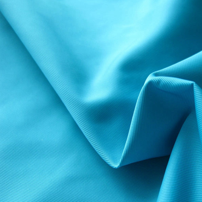 75D Plain Poly Weft Twist Shape Memory Fabric for Warm Coat Fall Jackets