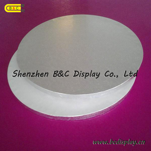 Cake Boards, Silver Cake Drums, Silver Cake Boards (B&C-K006)