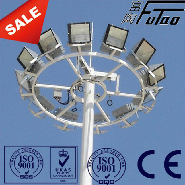 30m High Mast Lamp Pole