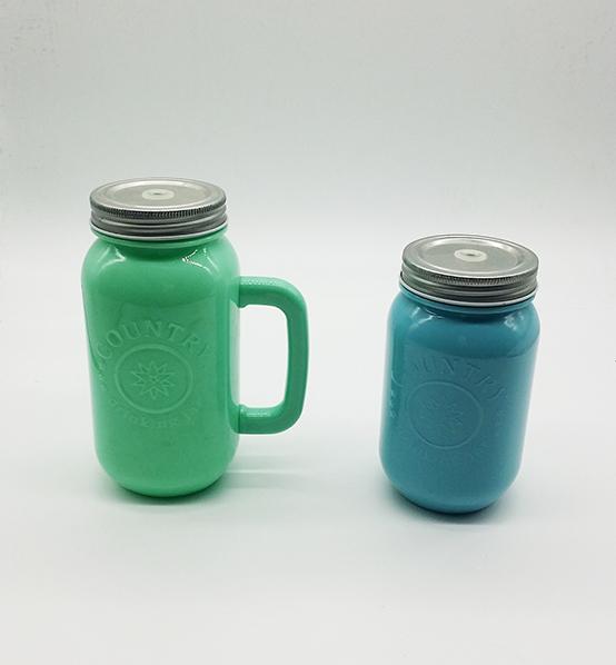 Plastic Single Wall Mason Jar