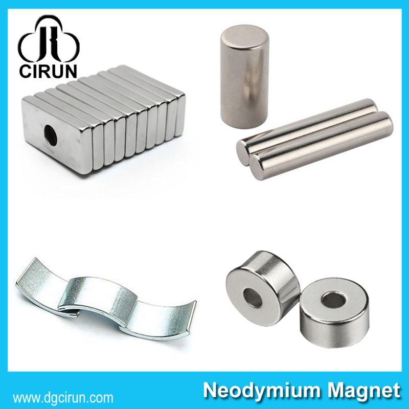 China Manufacturer Super Strong High Grade Rare Earth Sintered Permanent Motor Magnet/NdFeB Magnet/Neodymium Magnet