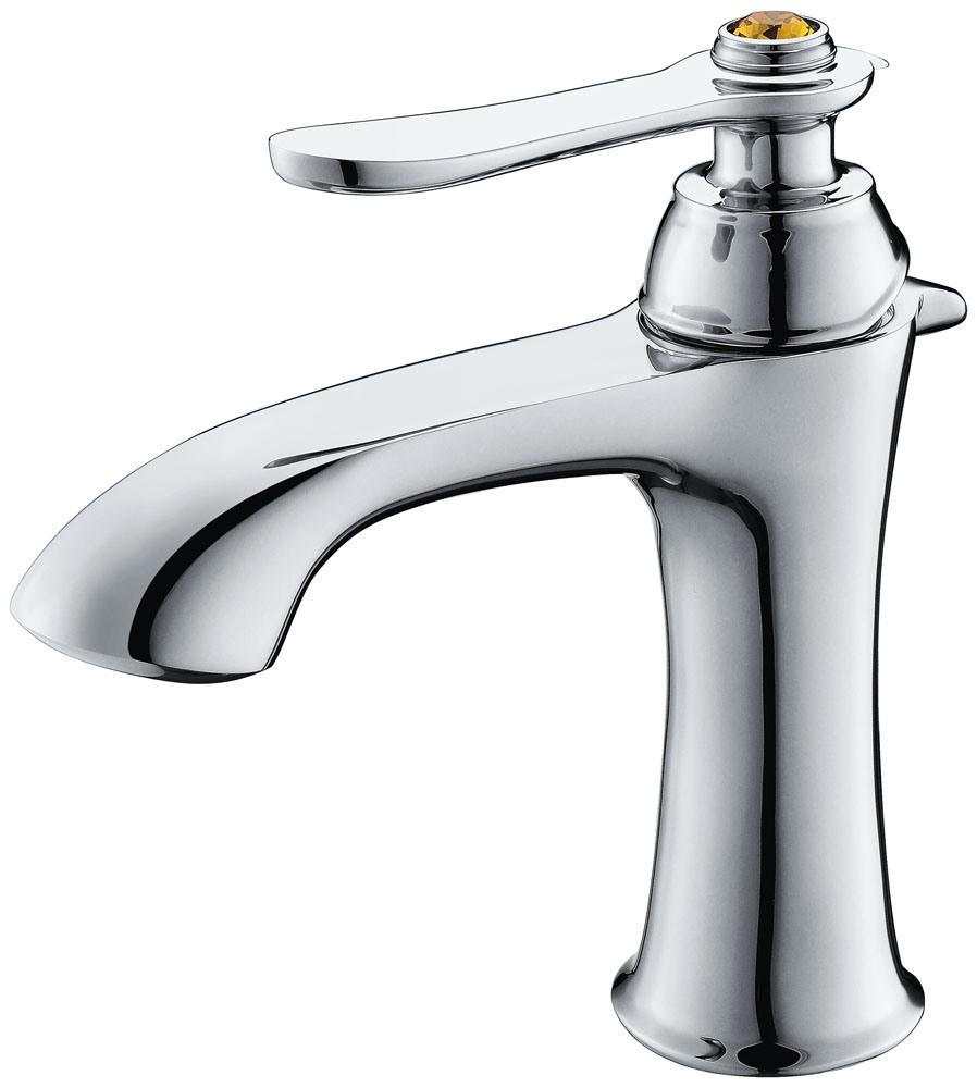Single Handle Royal Rose Gold Basin Water Tap