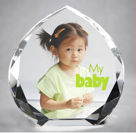 Crystal Glass Photo Frame for Crystal Gifts