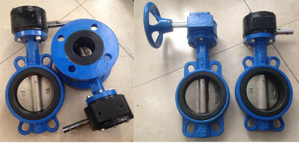 Ss316 Disc Wafer Butterfly Valve