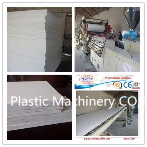 PVC Foamed Board Extrusion Machine