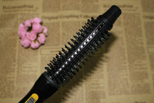 Electric Automatic Beautiful Girls Hair Straighter Comb Hair Brush