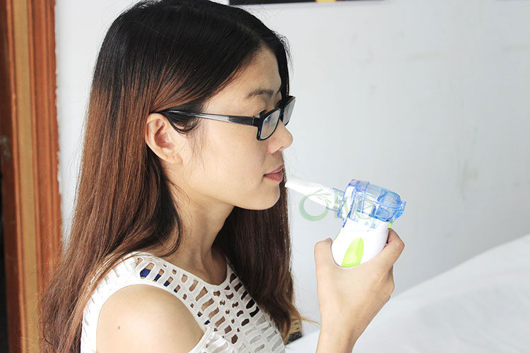 2018 Best Portable Quiet Mesh Respiratory Nebulizer with Mask and Adpator