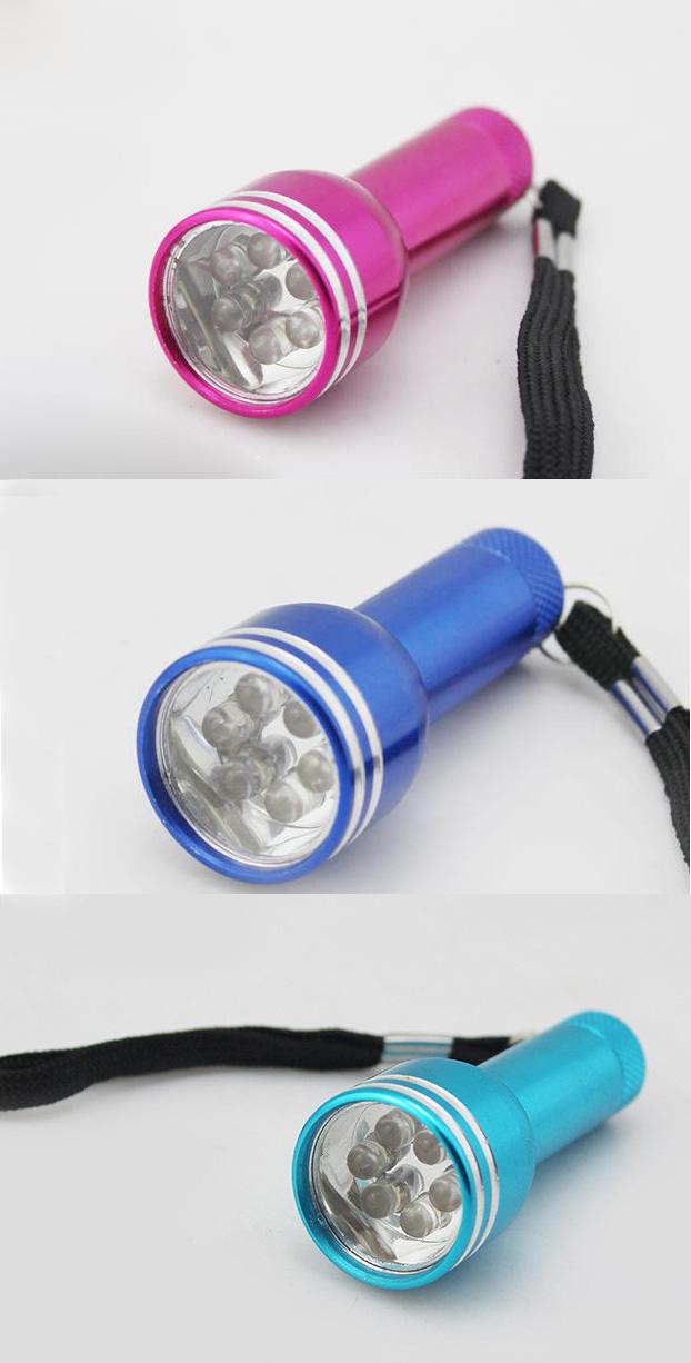 Mini 6LED Flashlight Girl Flashlight Camping LED Flashlight