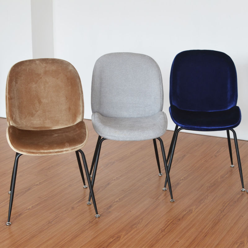 (SP-HC436) Restaurant Furniture Fabric Gubi Beetle Chair Modern