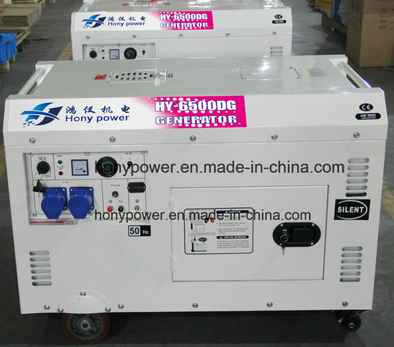 Air Cooled Soundproof Diesel Generator (DG5500SE) with Ce Approval
