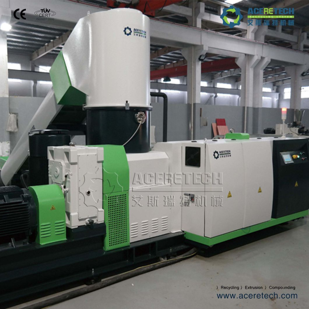 Plastic Compacting and Pelletizing System with Smart Control