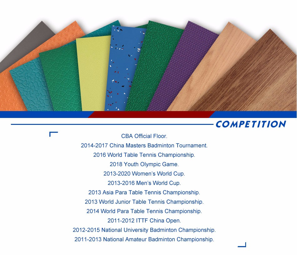 IHF Certified Courts Mats