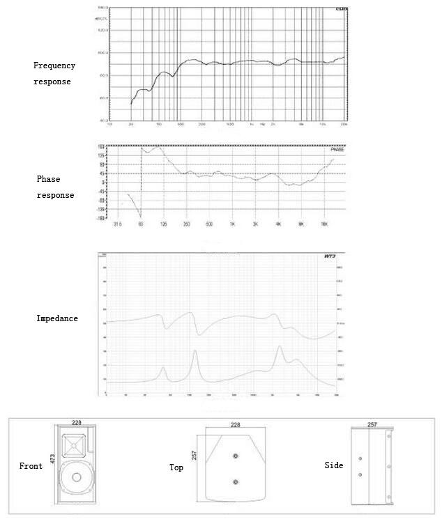 Zsound C8 Excellent PA Vocal Performance Loudspeaker Audio System