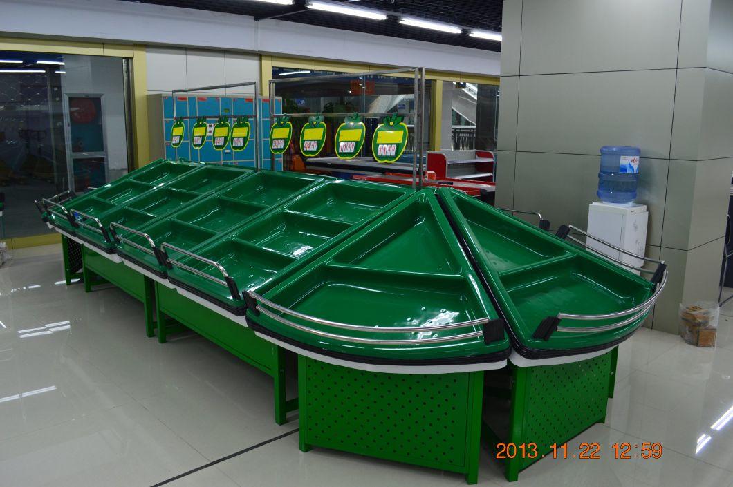Supermarket Fruits and Vegetable Rack Display Stand (YD-V001)