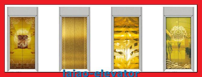 Machine Roomless Passenger Elevator Lift with 1~2m/S