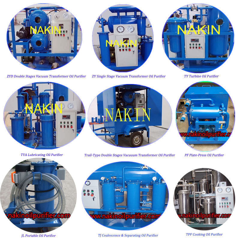 Waste Motor Oil Recycling Machine/Used Oil Distillation Machine/Oil Regeneration