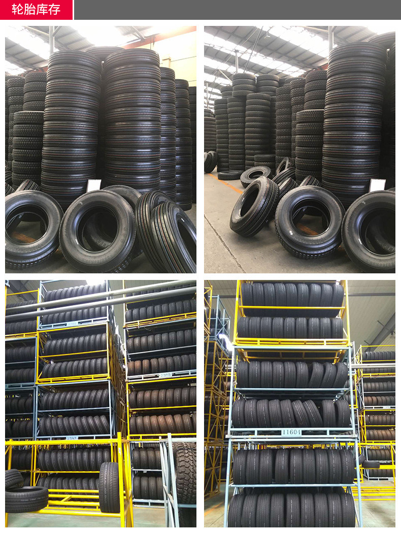 Radial Truck Tire for Asia Market (315/80R22.5, 1200R20)