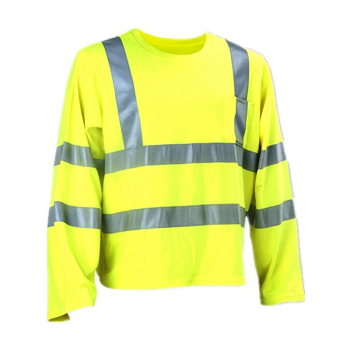 China Reflective Tap High Visibility T-Shirt
