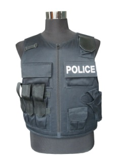 Type 3 Tactical Equipment 2 Grade Protection Soft Bulletproof Vest