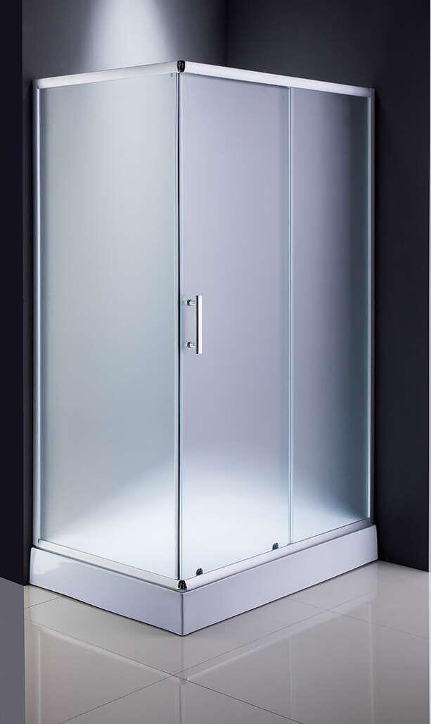 Mat Glass 120*80cm Bath Screen (ADL-8001)