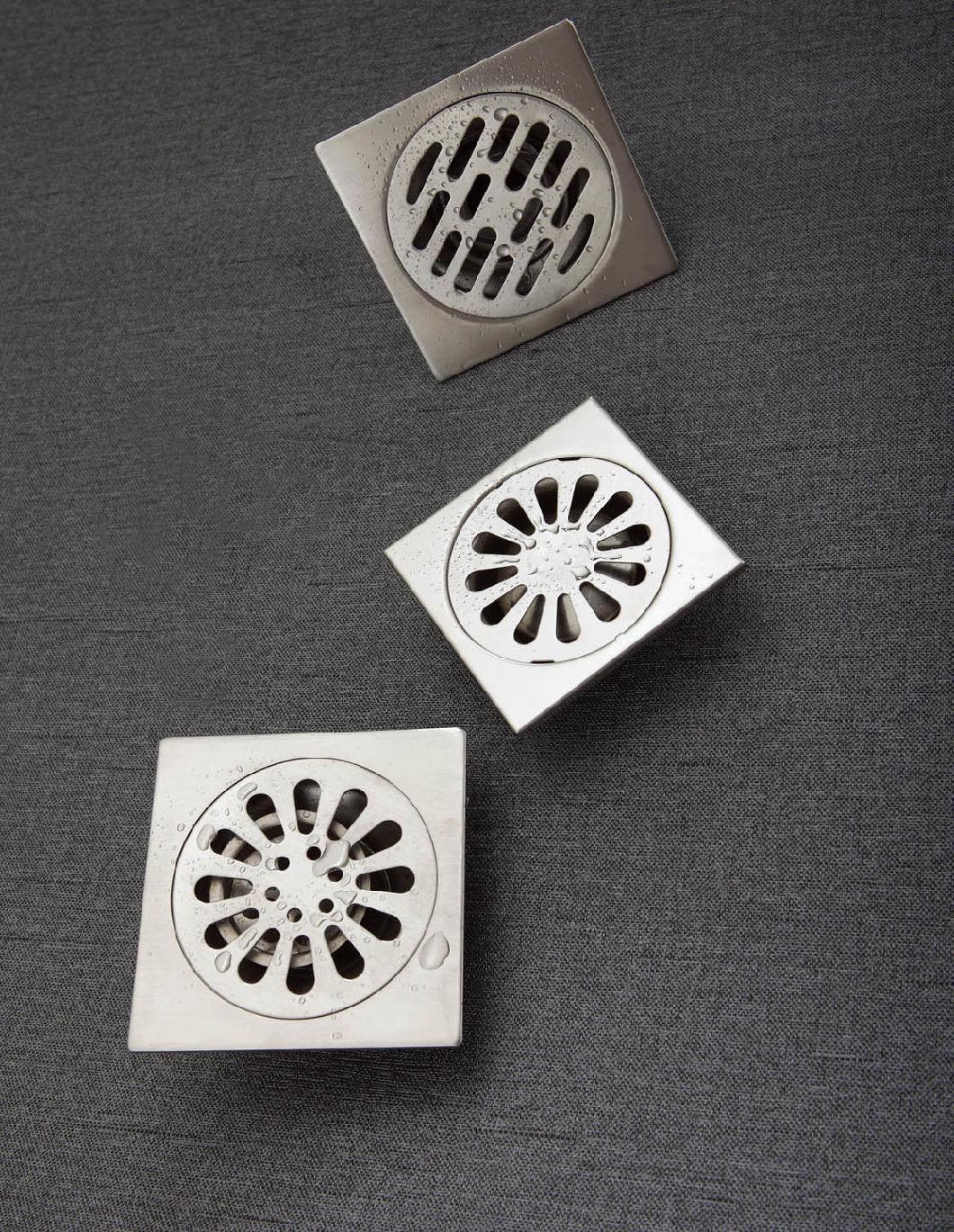 304 Stainless Steel Bathroom Floor Drain
