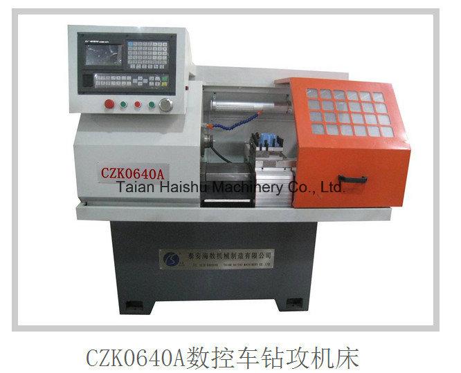China Mini Lathe Machine Czk0640A CNC Lathe Drill Mill Tap CNC Machine Price