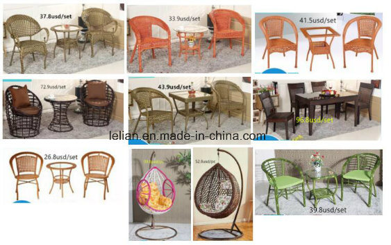 PE Rattan Mesh Chair for Outdoor and Garden Furniture (LL-0024)