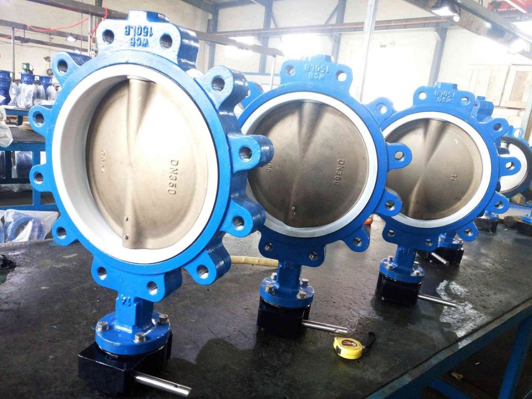 DIN/ANSI Lug Type Butterfly Valve with Alu. Bronze Disc