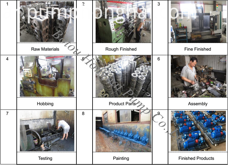 Punp Production Process