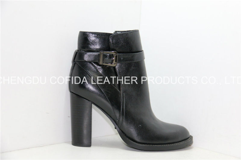 15fw High Heels Women Leather Boots for Sexy Fashion Lady
