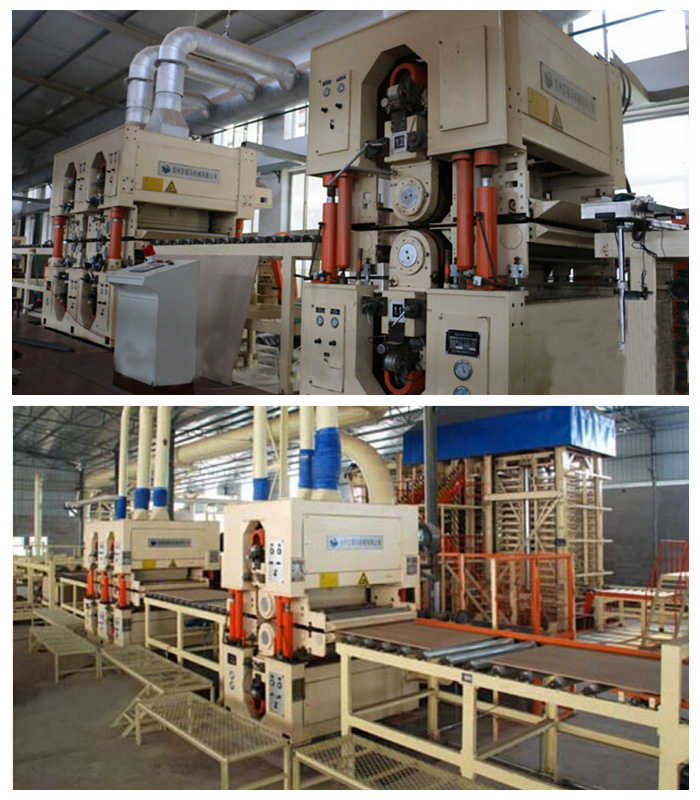 Capacity 20000cbm One Year MDF Production Line