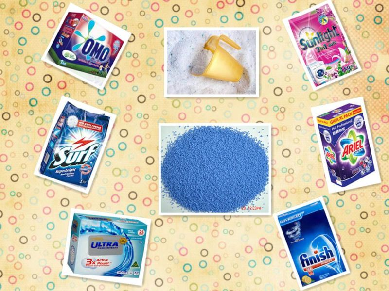 Colorful Granules for Washing Powder