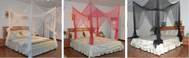 Hanging 4 Poster Bed Canopy Mosquito/Mosquiteros Net