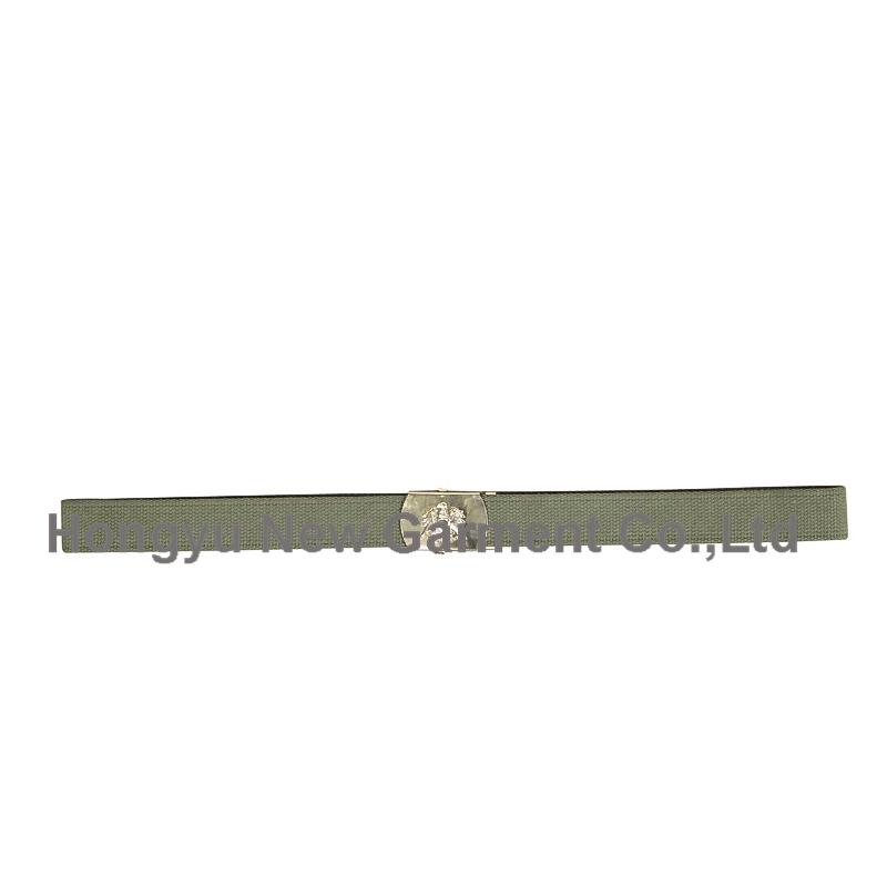 Men's Polyester Military Duty Waist Webbing Belt (HY-WB013)