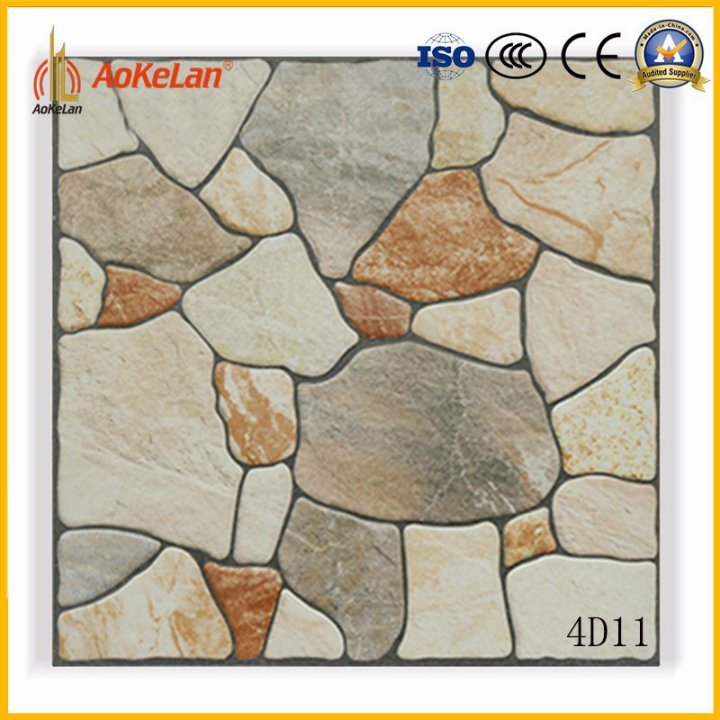 400X400mm Rustic Floor Tile for Garden Non-Slip Building Material