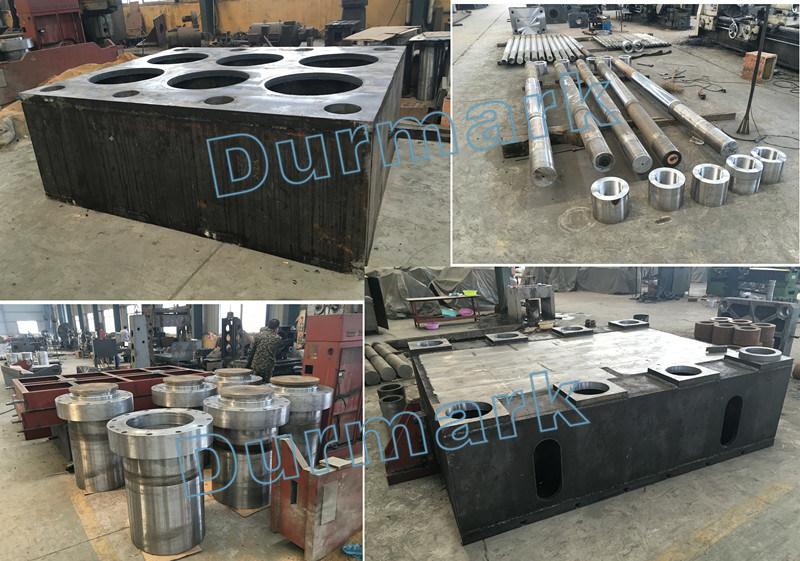 Dhp Series Steel Door Embossing Machine 2000t Hydraulic Door Press Machine