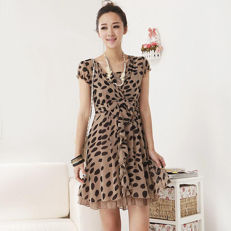 Butterfly Cartoon Print Fabric for Garment/Dress