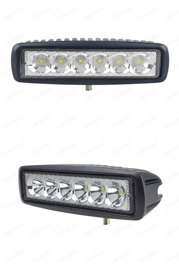 6 Inch 18W Offroad Marine LED Mini Light Bar