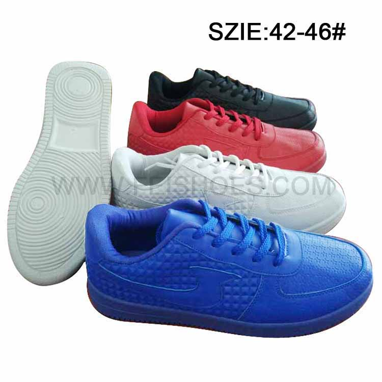 New Style Men's Rubber Skate Shoes Injection Shoes (MP16721-1)