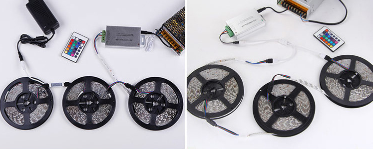 Ce&RoHS Sk6818 Ws2812b Individually Addressable 5050 LED Strip