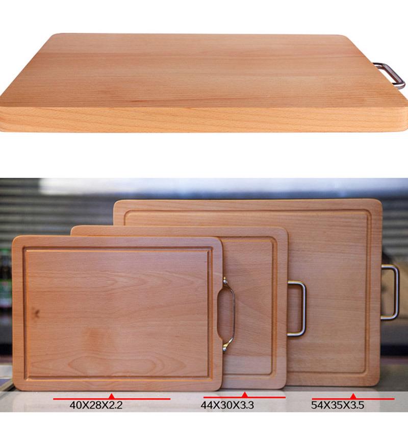 Beech Wood Kitchen Cooking Tool Food Cutting Board Chopping Blocks