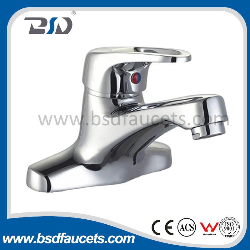 Single Handle Hot & Cold Water Basin Mixer Tap