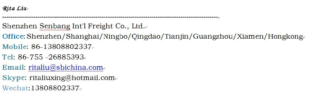 Shipping Agent From Shenzhen to Colombia/Sea Freight