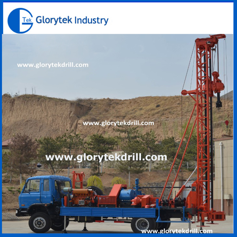 Truck Mounted Water Well Drilling Rig for Sale (350m)