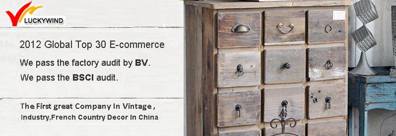 Shabby Chic Vintage Industrial 18 Drawer Black Metal Cabinet