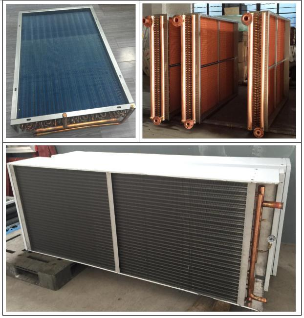 Copper Tube Aluminum Fin Condenser for Air Cooled Chiller