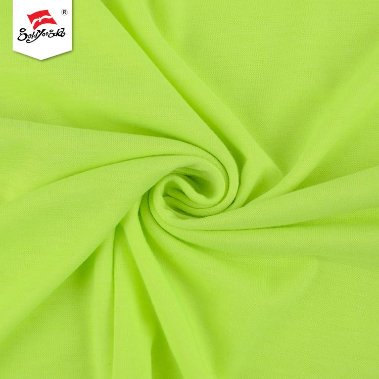 Vibrant Green Single Jersey Fabric