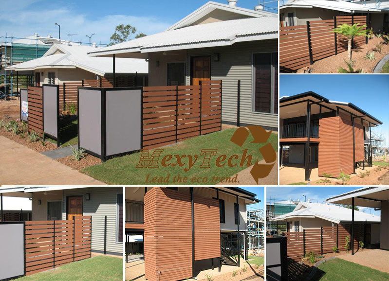 WPC Screen Fence Australia Trellis Style Simple Installation