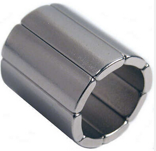 Arc Magnet for High Speed Motor with Nickel/Zinc/Epoxy Coating